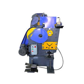 Angle steel punching and cutting machine