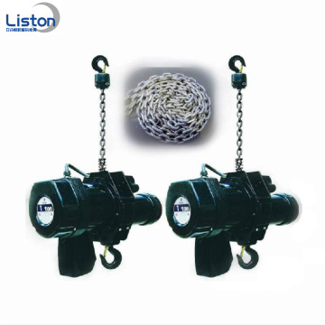 Durable motor 2000kg black stage electric chain hoist