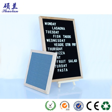Top quality customized color felt letter board