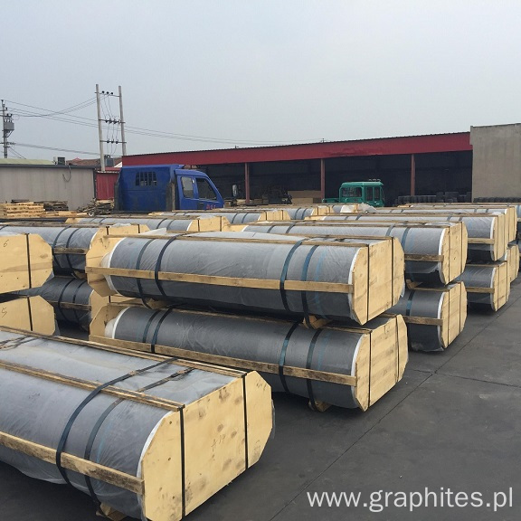 UHP 350 Electrode Graphite Good Quality For EAF
