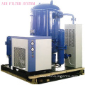 Low pressure air filter for pet blowing machine