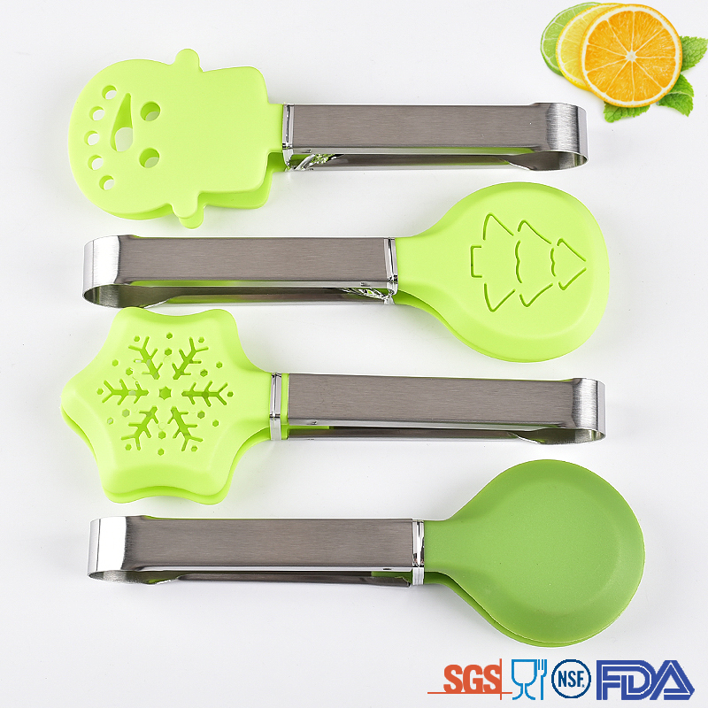 Snow Shape Nylon Tongs