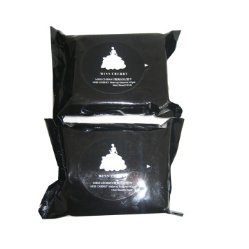 Black Charcoal Cleansing Wet Wipes For Personal Care