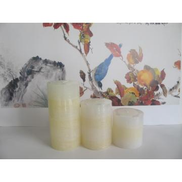 Two Colors Scented Layered Pillar Candle