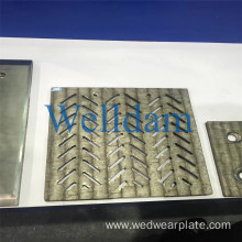 HRC 58-62 HardFacing Abrasive Resistant Bimetallic Cladding Wear Plate for Coal Chute Liners