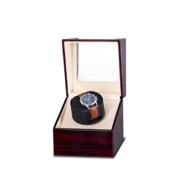 Single Watch Winder Rose Wood
