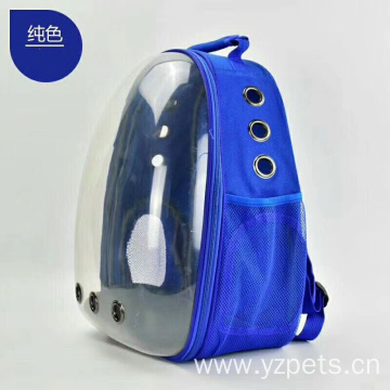 Comfort Transparent Capsule Pet Backpack for Small Animals