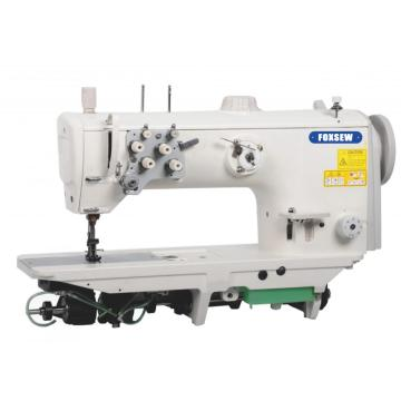 Double Needle Compound Feed Heavy Duty Sewing Machine