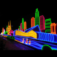 MIPANGO YA OUTDOOR LED NEON SITN