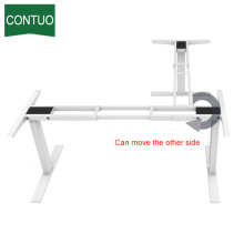 Height Adjustable Table L-Shaped Office Writing Desk Indian