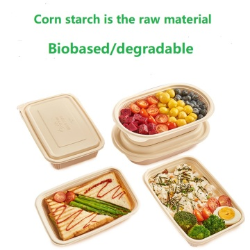 Corn starch-based biodegradable plastic sheet