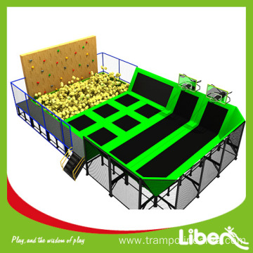 High quality CE approved indoor trampoline park producer