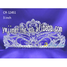 3 Inch wedding  bridal tiaras pageant crowns