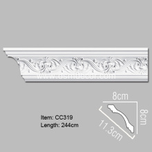 Pu Foam Decorative Cornice Moulding