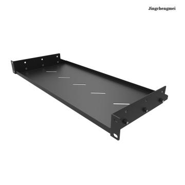 1U 19 Inch Cantilever Vented Server Shelf