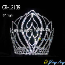 "8"" Large Pageant Crowns And Tiaras"
