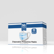Disposable Adult face Mask 50 pieces