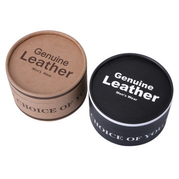 High quality luxury men belt packaging round gift box