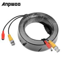 BNC CCTV accessory BNC Video Power Cable 5M 10M 15M 20M 30M 40M 50M for Analog AHD CCTV Surveillance Camera security system