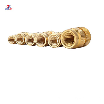 M2.3 -M2..6 compressed knurled  brass insert nut
