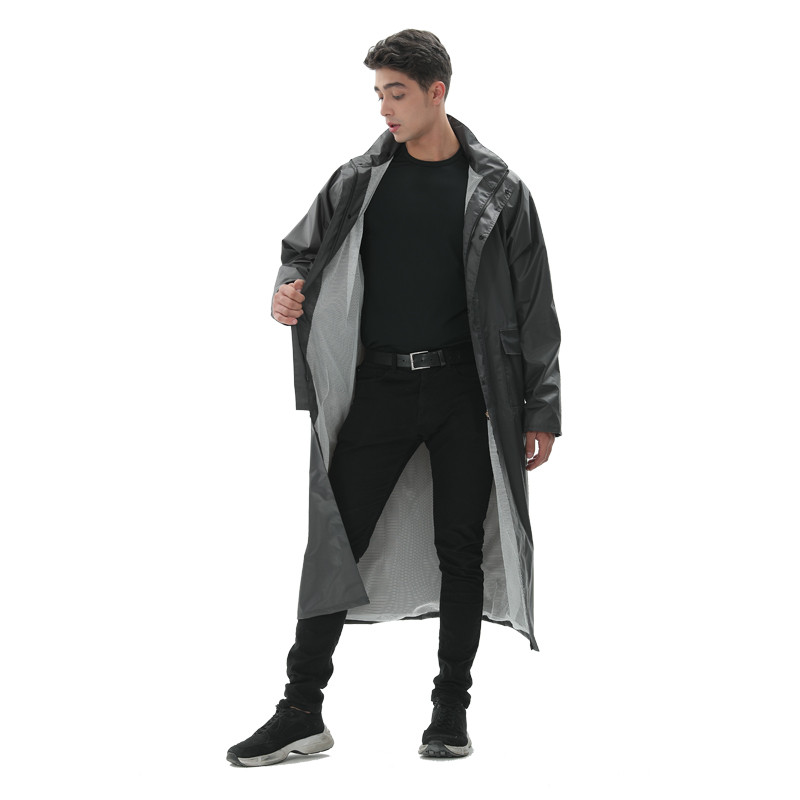 High Quality PU Raincoat01