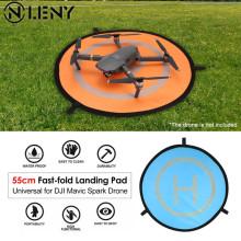 55/75/110cm Fast-fold Landing Pad Universal FPV Drone Parking Apron Foldable Pad For DJI Spark Mavic FPV Racing Drone Accessory