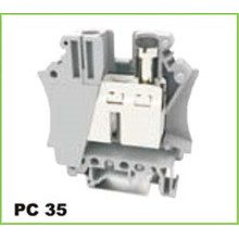 Screw Power Electric Din Rail Terminal Block