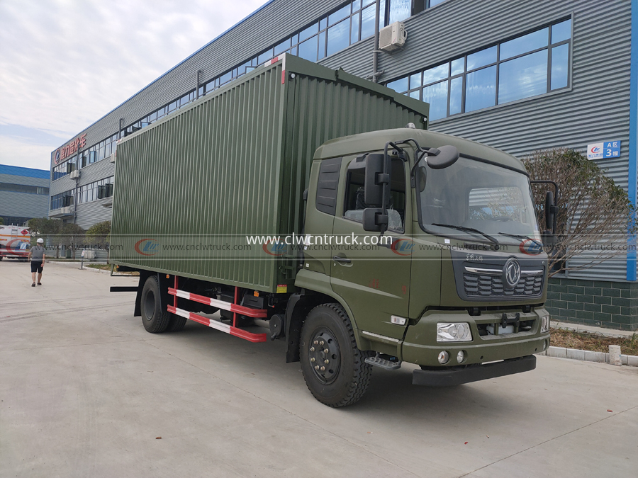 dongfeng food transport truck