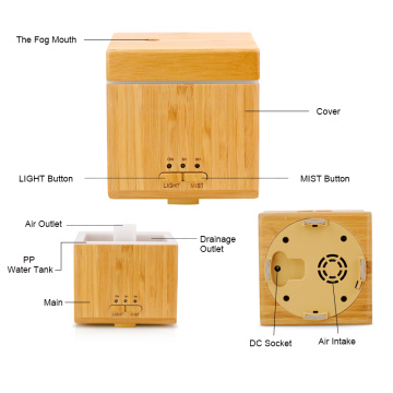 Bamboo Aromatherapy Essential Oil Air Diffuser