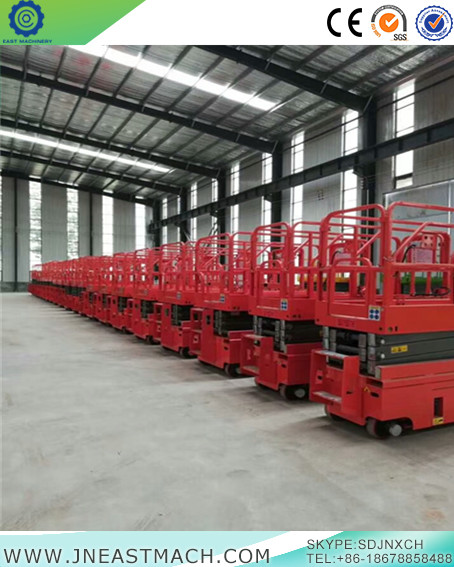 Self Propelled Mobile Electric Scissor Lifthydraulic Mobile Scissor Lift