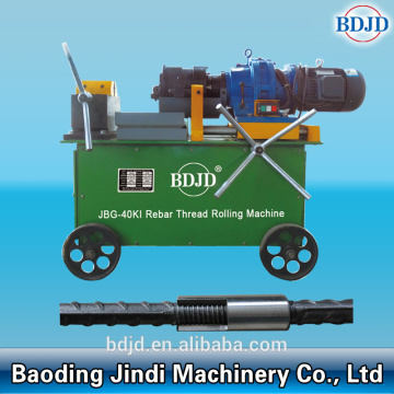 Construction Steel Rebar Connection Thread Rolling Machine