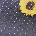 Great fashion style of flocked dot mesh fabric