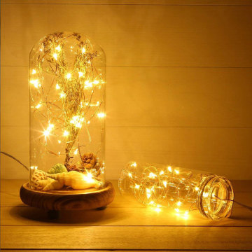 Outdoor Christmas Led Copper Wire Fairy Lights