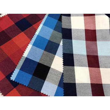 T/C(40%Cotton60%Polyester) Yarn-dyed Plaid Fabric