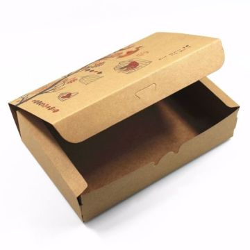 Brown Kraft Paper Box Gift Foldable Packing Boxes
