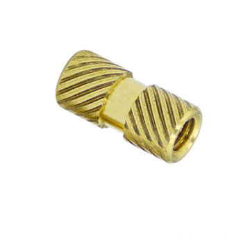 brass insert nut knurled hot-melt hot-pressed injection nut