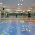 Gym pvc Flooring Custom floor