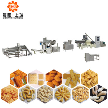Bugles Doritos Corn Chips Making Extruder Machine