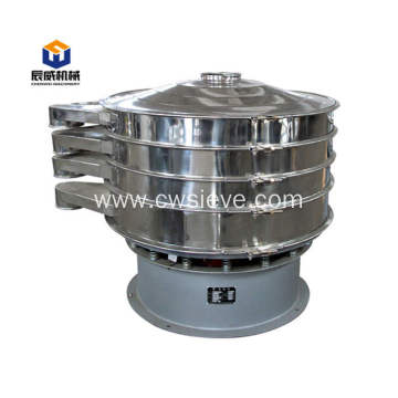 Fully enclosed vibrating sifter for maize powder