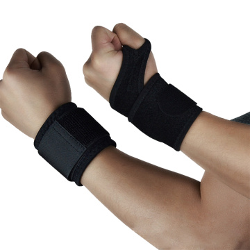 Basketball compression wrist strap