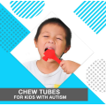 Non-Flavored Chewing Tubes for Kids with Autism