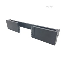 2U hinged wall mount rack for network switch