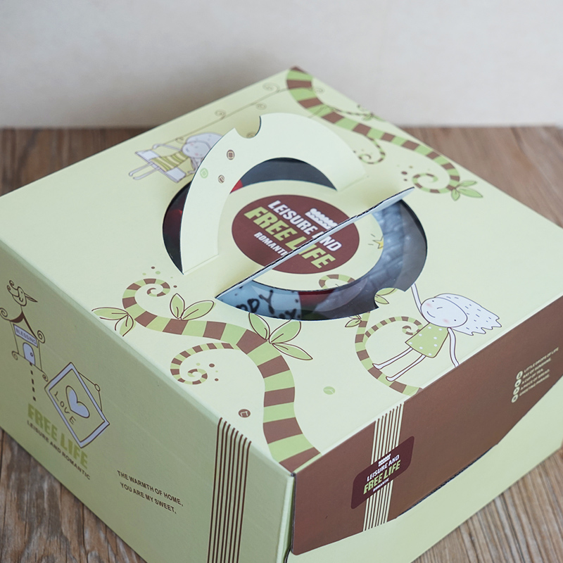 Birthday Cake Box 1