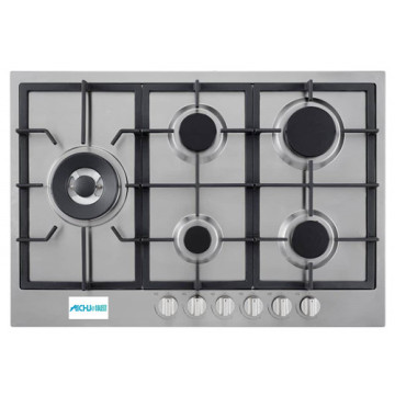 Etna Gas Stove Stainless Steel 5 Burner