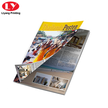 A4 entertainment magazine printing for advertising