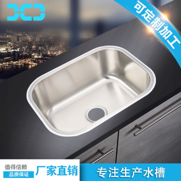 Commercial 304 stainless steel kitchen sink