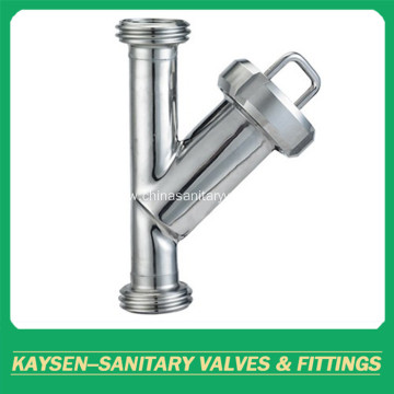 3A hygienic threaded Y-type filter/strainer