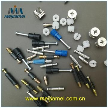 Zin Material Minifix Fittings Cam Furniture Fittings