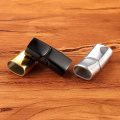 2 pcs/lot 6mm*12mm Stainless steel Hook Buckle Magnetic Bracelet Clasp Jewelry Making DIY connector wholesale Accessories