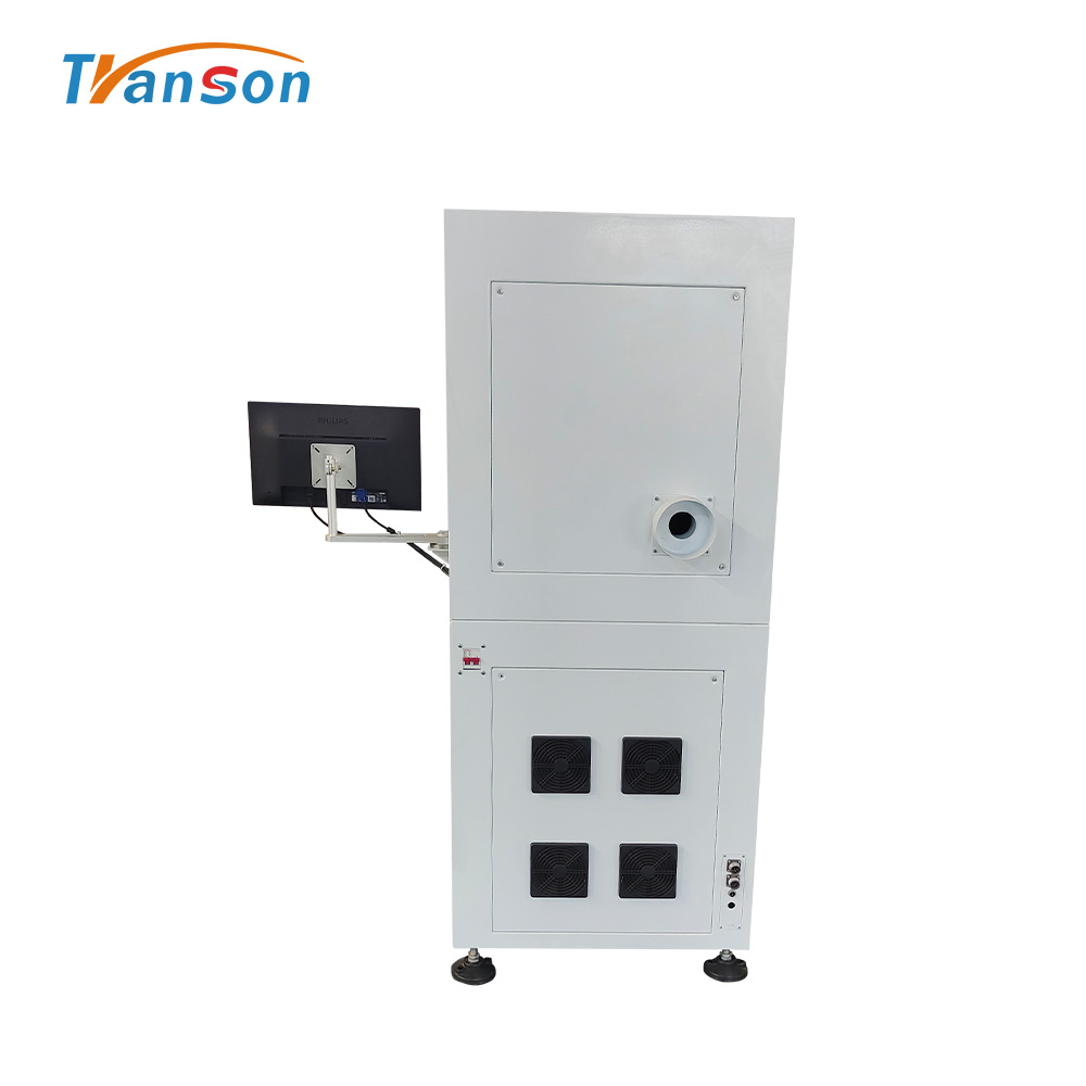 Enclosed 3D Metal Fiber Laser Engraver Marking Machine